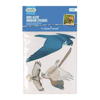 GM Bird Alert Window Stickers