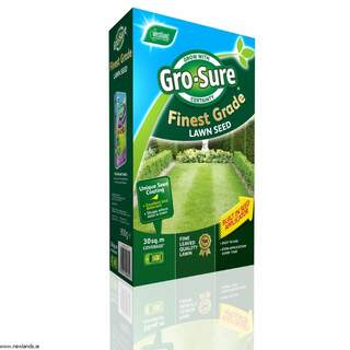 Gro-sure Finest Lawn Seed 30m2