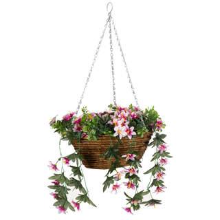 Easy Basket Star Gazing Lilies