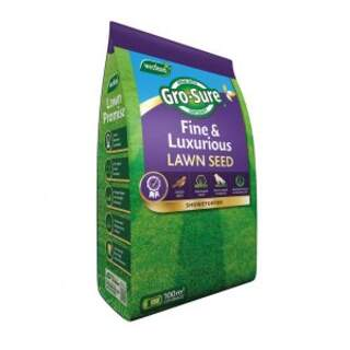 Gro-Sure Fine & Luxurious Lawn Seed 100m2