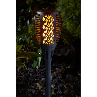 Compact Flaming Torch Tray Black