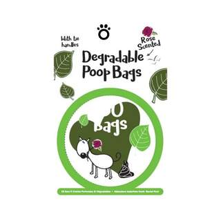Degradable Scented Poop Bags Pack of 150