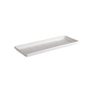 barcelona trough saucer 50cm white