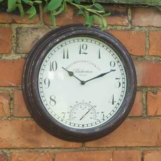 Bickerton Clock Thermometer 12in