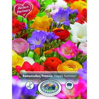 Ranunculus Freesia Happy Summer 25
