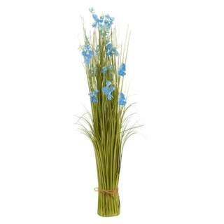 Faux Bouquet True Blue 90 cm