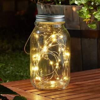 Firefly Décor Jar