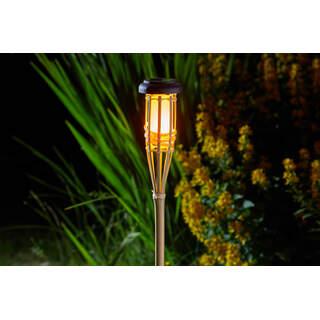 Flaming Bamboo Tiki Torch