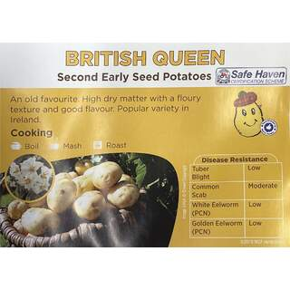 British Queens Sec Early 5Kg