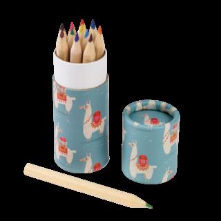 Dolly Llama Colouring Pencils Set Of 12