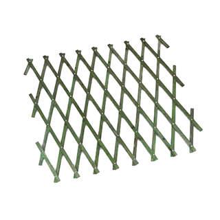 Heavy Duty Expanding Trellis Green 1.8 x 0.3m