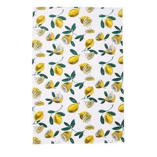 Cotton Tea Towel Lemons
