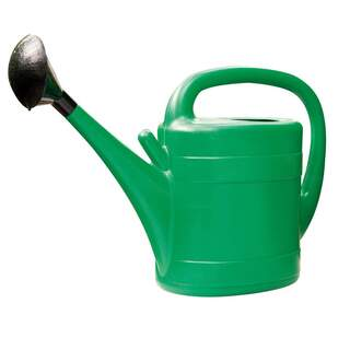 GM Plastic Watering Can Green 10ltr