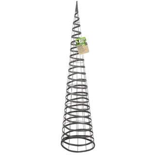 Faux Rattan Obelisk Slate 1.5m