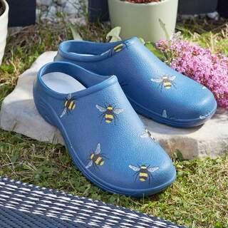 Comfi Garden Clog Bees UK 4 EU 36