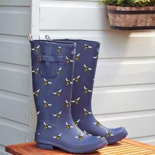 Rubber Wellingtons Bees UK 4 EU 36