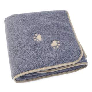 100 x 110cm sherpa comforter