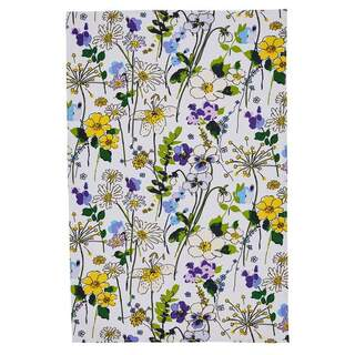 Cotton Tea Towel Wildflower