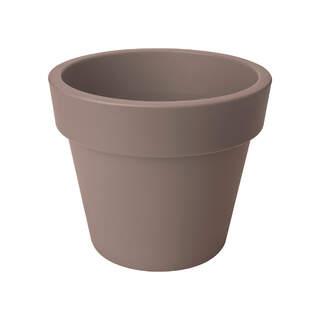 green basics top planter 40cm taupe