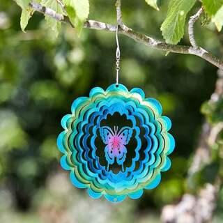 Butterfly Rainbow Spinner 15 cm