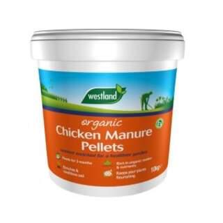 Organic Chicken Manure Pellets Bucket 10kg