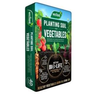 Bio Life PLanting Soil for Vegetables 40L