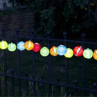 Chinese Lanterns Set of 10